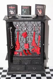 miniature dollhouse bdsm cabinet with many accessories news from wwwreal essencecom accessories furniture funny
