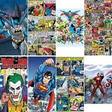 image is loading new 1 wall mural marvel dc comics batman batman superman iron man 2