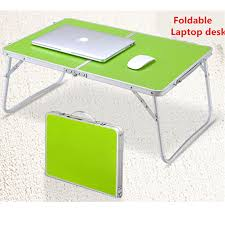 portable laptop notebook pc desk table foldable computer standing desk picnic table bed office tray aliexpresscom buy foldable office table desk