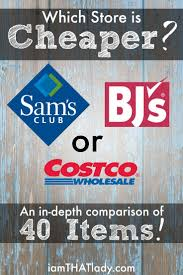 best ideas about costco website million dollar costco vs sam s vs bj s i compared 40 common household items to find