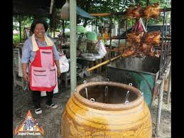 <b>Thai Clay</b> Pot Charcoal Roasted Chicken - YouTube