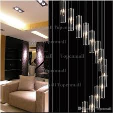 material k9 crystal 304 stainless steel light source g4 not included applicable 10 25m2 application of space penthouse stairs application lamps staircase