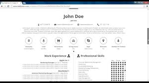 How to Make Infographic CV | Realtime CV Online Tool - YouTube How to Make Infographic CV | Realtime CV Online Tool