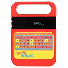 <b>Speak & Spell</b> Electronic Game : Target