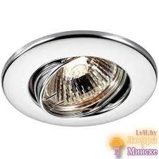 <b>Novotech Spot 369693</b> - точечный <b>светильник</b> хромового цвета в ...