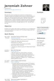 host resume samples   visualcv resume samples databaseassociate producer show host resume samples