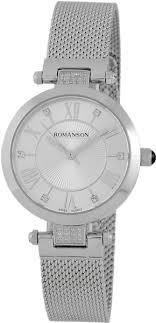 <b>Женские часы Romanson</b> RM7A16QLW(<b>WH</b>) | www.gt-a.ru