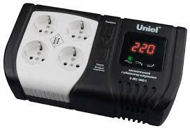 <b>Стабилизатор напряжения</b> однофазный <b>Uniel</b> U-ARS-1000/1 ...