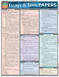 amazoncom essays amp term papers quickstudy academic  essays amp term papers quickstudy academic chrt edition
