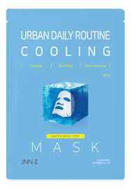 Тканевая <b>маска для лица</b> охлаждающая JNN-II Urban <b>Daily</b> ...