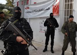 اصابة ضابط تونسي بطلق ناري قرب مركز اقتراع عشية الانتخابات الرئاسية