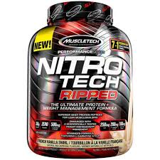MuscleTech <b>NitroTech Ripped Ultimate</b> Whey Protein Isolate ...