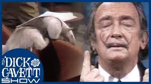 <b>Salvador Dali</b> on Anteaters and Moustaches   The Dick Cavett Show ...