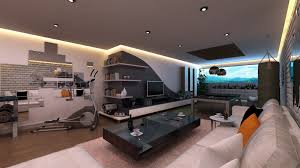 charming white brown wood cool design living room home theatre tv grey glass modern small ideas dining charming dining room office