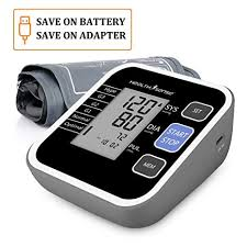 fully automatic digital upper arm blood pressure monitor clinically validated sphygmomanometer healthy tool