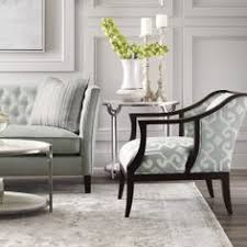 bernhardt trinity sofa rose chair in ivory and cloud blue detail bernhardt furniture reception room chairs
