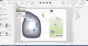 creating network diagram using visio   youtube