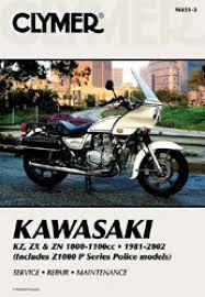 1981 2002 kawasaki kz1000 z1000 z1100 police clymer motorcycle 1981 2002 kawasaki kz1000 z1000 z1100 police repair manual by clymer