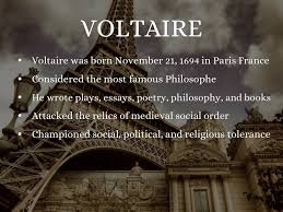 ib history voltaire
