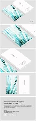 best images about creative resumes business cards on watercolor succulent business card