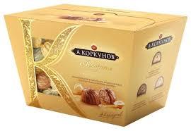 <b>Набор конфет</b> Коркунов <b>&quot</b>;Ассорти&quot; молочный <b>шоколад</b> ...