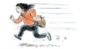 Bildresultat för springa tecknad