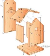 Birdhouses  How to build and Bird houses on Pinterest  build your own birdhouse plans  hate the partiotic design colors on this website