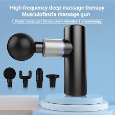 <b>Mini</b> Electric Massage <b>Gun</b> Muscle Relaxation Massager Vibration ...