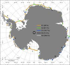 remote sensing full text calving fronts of antarctica remotesensing 05 06305f6 1024