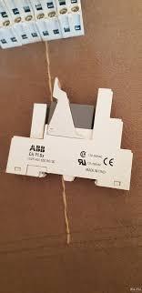 Реле с подложкой и индикатором abb cr-plsx 24v — купить в ...