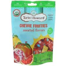 Torie & Howard, <b>Organic Candy Chews</b>, <b>Original</b> Chewie Fruities ...