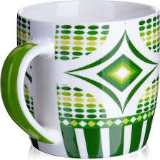 <b>Кружка Loraine</b>, цвет: белый, салатовый, зеленый, <b>320 мл</b> ...