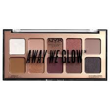 <b>Тени NYX Professional Makeup</b> Палетка <b>теней</b> для век. AWAY WE ...