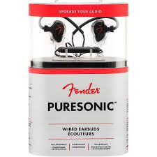 <b>Fender PureSonic Wired Earbuds</b> | Musician's Friend