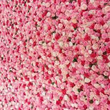 40x60cm Silk Fake Rose Flower Wall Wedding Decoration ...