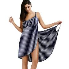 Wipalo <b>2019 Sexy</b> Backless Women <b>Summer Striped</b> Dress V neck ...