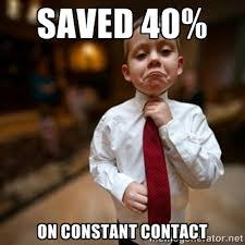 Saved 40% On Constant Contact - Alright Then Business Kid | Meme ... via Relatably.com