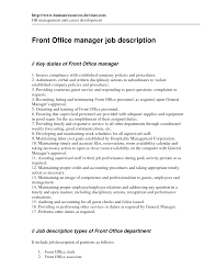job description for office manager livmoore tk job description for office manager