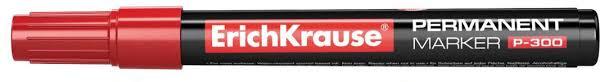 <b>Перманентный маркер ErichKrause</b> P-300, цвет чернил красный ...