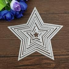 <b>8pcs</b>/set <b>Basic Stars</b> Cutting Dies Carbon steel Cutting Dies ...