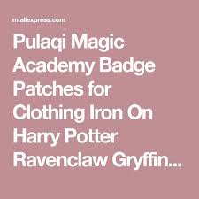 <b>Pulaqi</b> Magic Academy Badge <b>Patches</b> for Clothing Iron On Harry ...