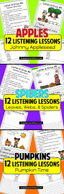 best images about a listening skills esl sub 12 listen and follow directions lessons a fall theme themes include apples