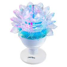 Диско-<b>лампа perfeo</b> лотос – купить в Москве, цена 400 руб., дата ...