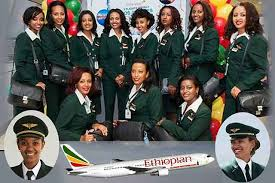 "Résultat de recherche d'images pour ""pics of the first all female ethiopian flight crew to Bangkok"""