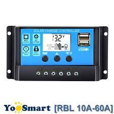 Solar Charge Controller PWM Auto <b>60A</b>/<b>50A</b>/<b>40A</b>/<b>30A</b>/20A/10A 12V ...