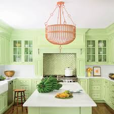painted blue kitchen cabinets house: brilliant kitchen cabinet paint ideas green island kitchen  brilliant kitchen cabinet paint ideas
