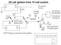 24 volt from 12 volt conversion system wiring diagram 24 volt relay oh no it's got a 24 volt coil! Wiring Diagram 24 Volt Relay
