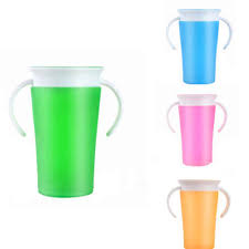 Baby <b>Toddler Drinking 360 Degree</b> Miracle Training Cup Safe Spill ...