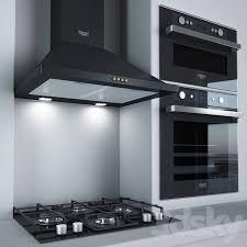 3d models: Kitchen appliance - Kitchen appliances <b>Ariston</b> 2