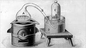 「joseph priestley experiment on oxygen is needed for burning」の画像検索結果